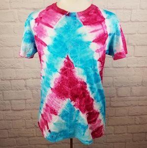 Vintage 80's Tye Dye Single Stitch Hanes T-Shirt